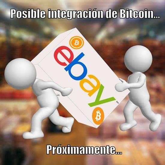 """eBay """"considera seriamente"""" la integración de Bitcoin"""